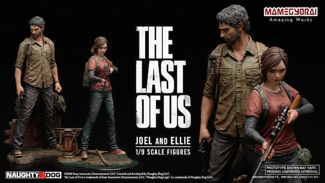 「The Last of Us Day」プレビュー情報公開―ジョエルとエリーのフィギュア予約&PS4用テーマ無料配信開始
