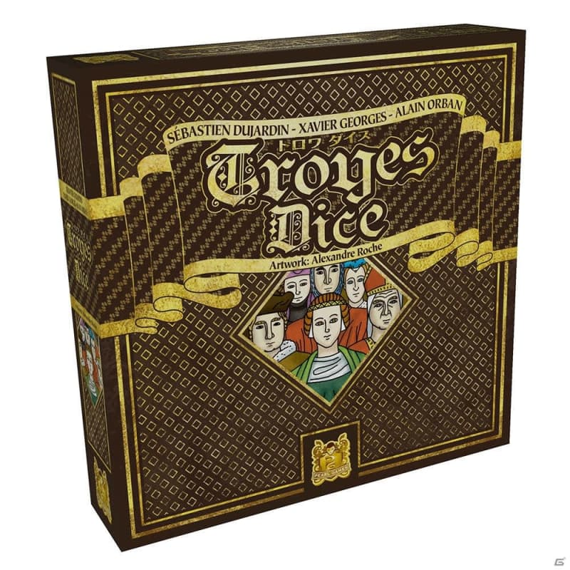 「TROYES/トロワ」を手掛けた3人のデザイナーによる新作ボードゲーム「トロワ ダイス」日本語版が発売!