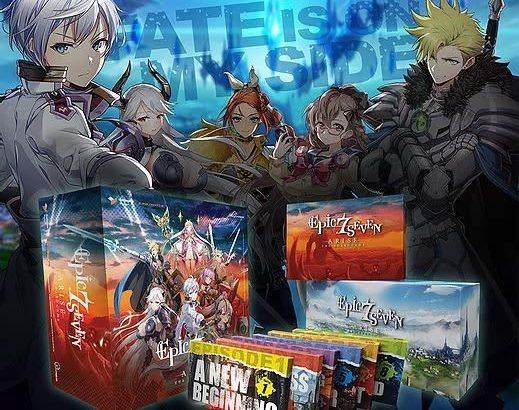モバイルRPG『エピックセブン』ベースのボードゲーム「Epic Seven Arise」Kickstarterキャンペーン開始―スタート1時間で目標額を達成