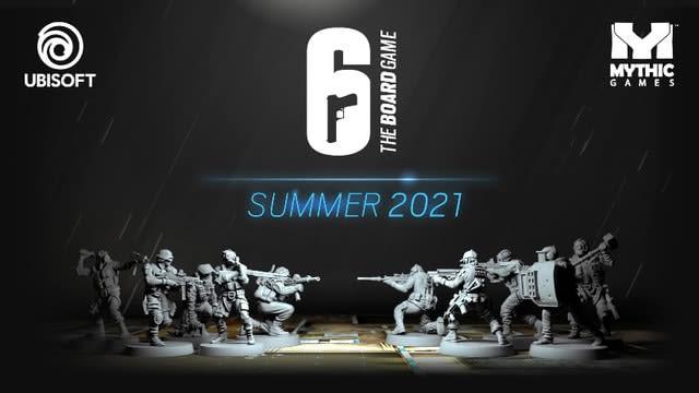『レインボーシックス シージ』のボードゲーム化が発表! 2021年夏に登場予定