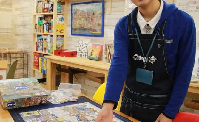 世界のボードゲーム一堂に カフェ「Cetacea」オープン 諫早