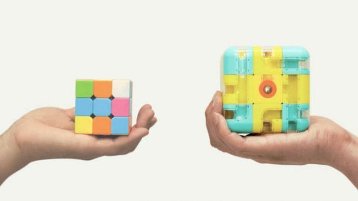 固まった脳をフニャフニャに!革新的な頭の体操用パズルキューブ「U.CUBE」