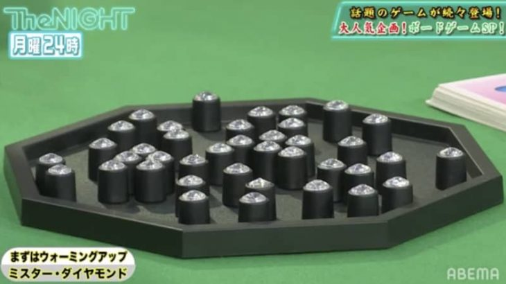 現在は廃盤となった幻のボードゲーム「ミスター・ダイヤモンド」