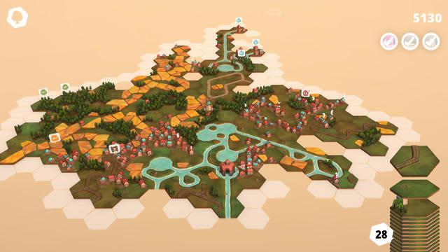 のんびりパズルゲーム『Dorfromantik』ー自然に癒されながら自分だけの世界を創り出そう【爆速プレイレポ】