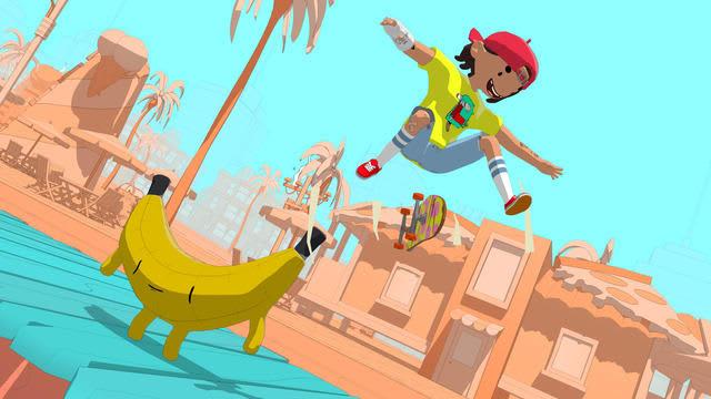 今度は2.5D! 高評価スケボーゲーム新作『OlliOlli World』発表―鮮やかな世界で謎に満ちたスケートの神々を探そう