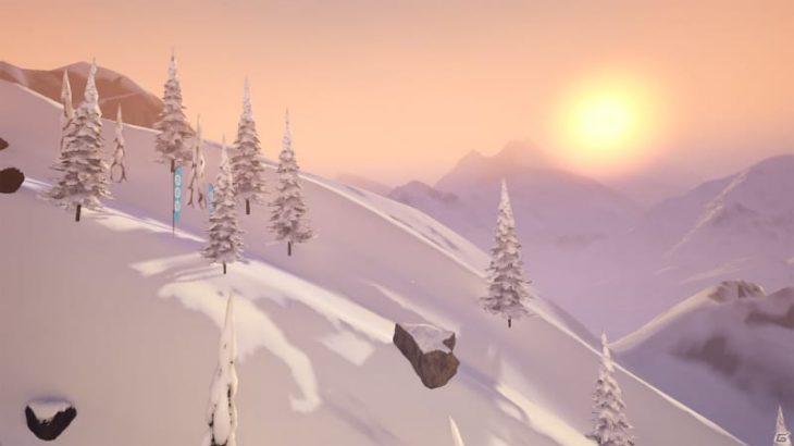 「Carve Snowboarding」がOculus Questで発売!「テン・エイティ スノーボーディング」のクリエイターが手がけたスノーボードゲーム