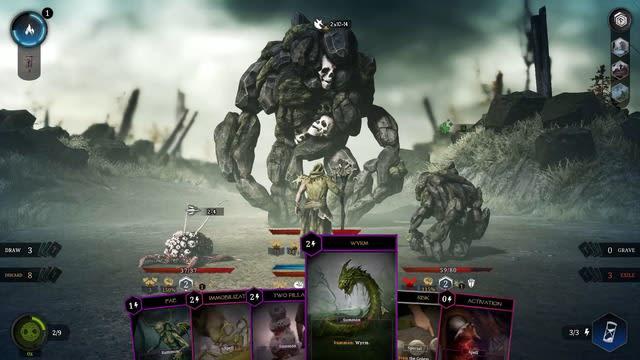 海外大型ボードゲームが、デッキ構築型ローグライクに!『Tainted Grail: Conquest』【爆速プレイレポ】