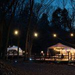 長野県の湖畔、大自然に囲まれてグランピング!「GLAMPING BASE enCamp」