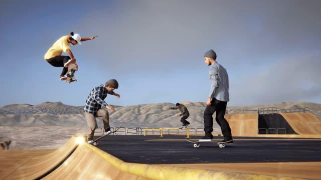 スケボーゲーム『Skater XL』に最大10人で遊べるオンラインマルチプレイヤーが実装