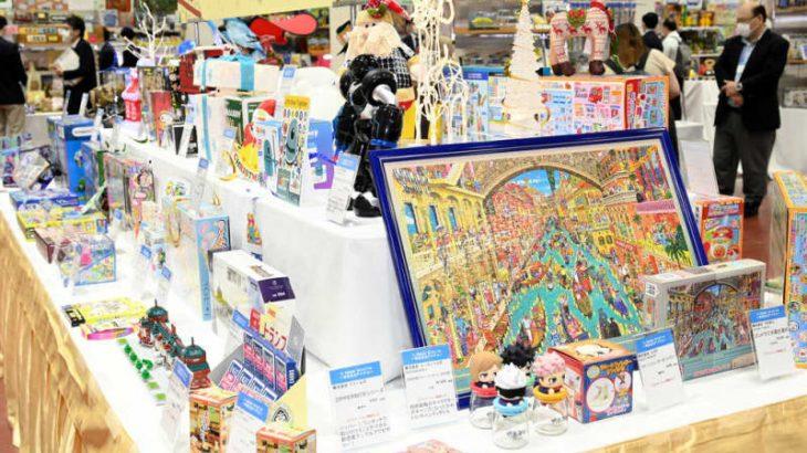 コロナ下の新作おもちゃ、仙台の見本市で取材した